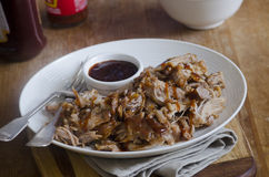 BBQ Pulled Pork Royalty Free Stock Photo