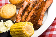 Bbq rib Royalty Free Stock Photos
