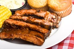 Bbq rib royalty free stock image