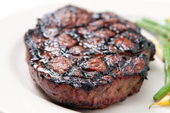 Bbq rib steak Royalty Free Stock Images
