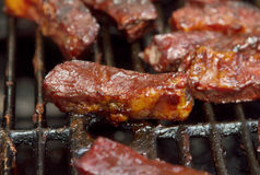 Bbq ribs Royalty Free Stock Image