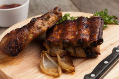 BBQ ribs. Royalty Free Stock Images