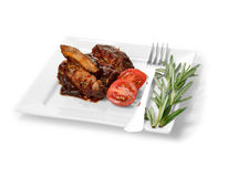 BBQ Ribs Stock Photography