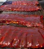 BBQ ribs Stock Photos