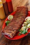 BBQ ribs Stock Photography