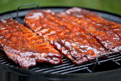 BBQ Ribs Royalty Free Stock Photography