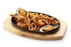 BBQ Seafood Royalty Free Stock Photography