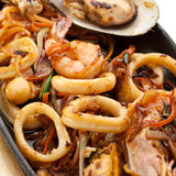 BBQ Seafood Royalty Free Stock Photo