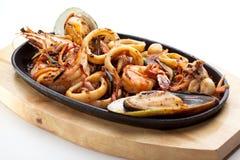 BBQ Seafood Stock Photos