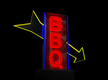 Bbq sign Royalty Free Stock Photography