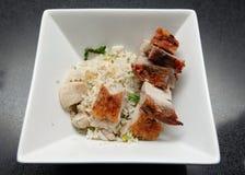 bbq smażąca wieprzowiny ryż pieczeń Fotografia Royalty Free