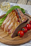 BBQ spare ribs Stock Photography