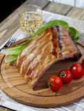 BBQ spare ribs Royalty Free Stock Photos