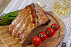 BBQ spare ribs Stock Photos