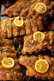 BBQ spare ribs royalty free stock image
