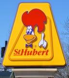BBQ srl di St-Hubert Fotografie Stock