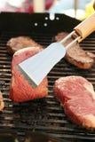 bbq-steak Arkivfoto