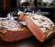 BBQ steak Stock Photos