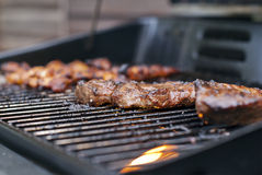 BBQ Steak Stock Photography