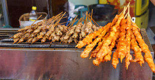 BBQ street food Stock Image