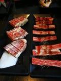 BBQ thaïlandais de boeuf image stock
