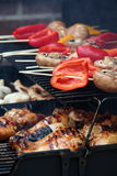BBQ van de zomer Stock Foto's