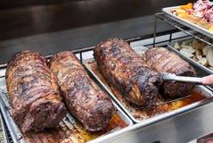 Bbq van het rundvlees Royalty-vrije Stock Afbeelding