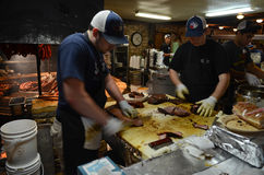 BBQ van Texas royalty-vrije stock foto's