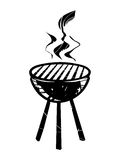 BBQ vector icon Royalty Free Stock Photography