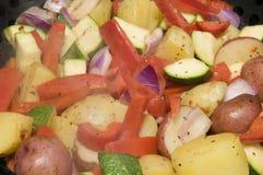 BBQ Vegatable Hutspot Royalty-vrije Stock Afbeeldingen