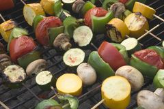 BBQ Vegetables royalty free stock image