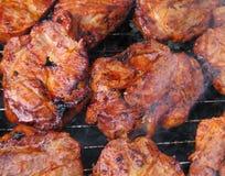 Bbq vlees Stock Afbeelding