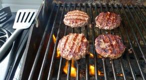 Bbq vlees Stock Afbeeldingen