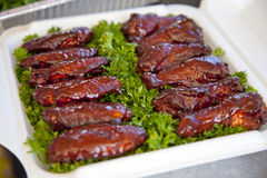 BBQ wings Royalty Free Stock Photos