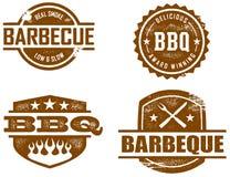 bbq znaczki Fotografia Stock