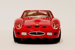 BBurago Ferrari 250 GTO 1/43 model Fotografia Royalty Free