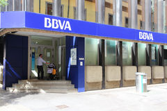 BBVA bank Stock Image