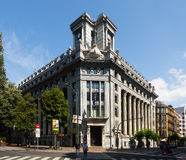 BBVA  Bank at Bilbao.  Spain Stock Image