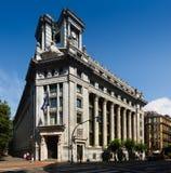 BBVA  Bank at Bilbao Royalty Free Stock Photos