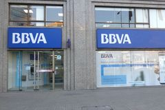 BBVA Royalty Free Stock Images