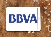BBVA Spanish banking group logo Stock Photos