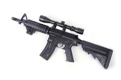 BBvapen för gevär M4 Arkivfoto