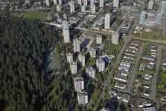 BC天线burnaby加拿大 图库摄影