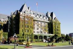 BC女皇旅馆维多利亚 免版税库存图片
