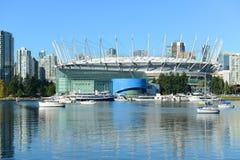 BC安置体育场,温哥华,加拿大 免版税库存照片