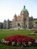 BC编译的加拿大议会垂直维多利亚 库存照片