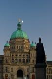 BC编译的加拿大议会维多利亚 免版税库存图片