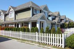 bc резиденции richmond Канады стоковое фото rf