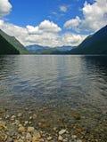 BC alouette加拿大湖 图库摄影