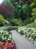 bc arbeta i trädgården buchart victoria Arkivbild